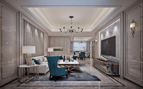 欧式风格141平米套房新房装修效果图