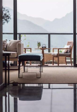 2020新中式阳光房设计图片 2020新中式茶几效果图