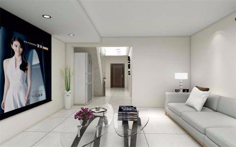 2018简约客厅装修设计 2018简约走廊效果图