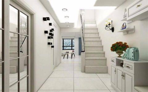简约客厅楼梯室内装修设计