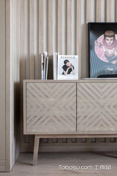 卧室米色细节北欧风格装饰效果图