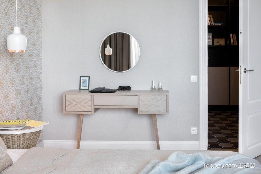 2019北欧卧室装修设计图片 2019北欧梳妆台装修设计
