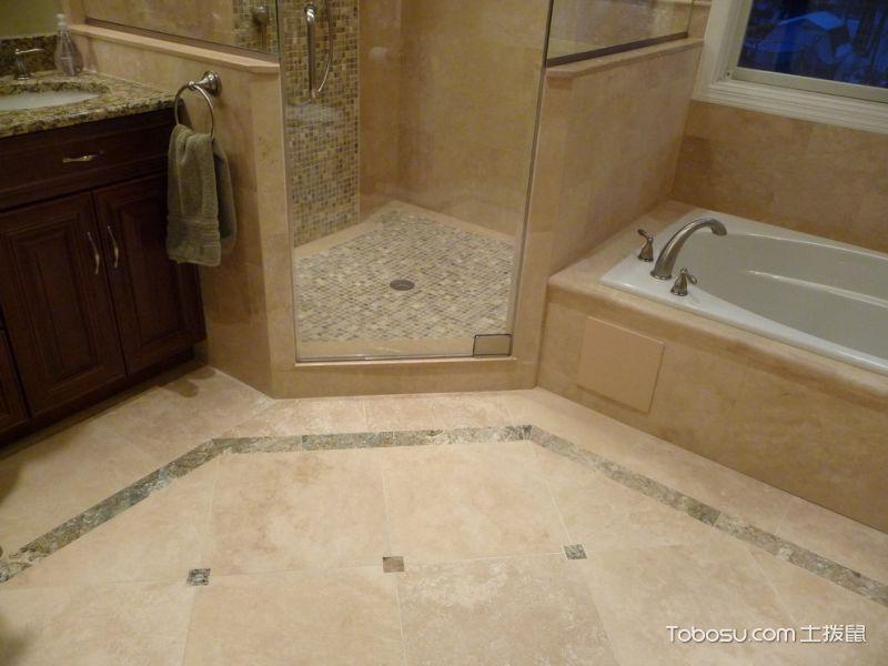 卫生间米色细节美式风格装修设计图片