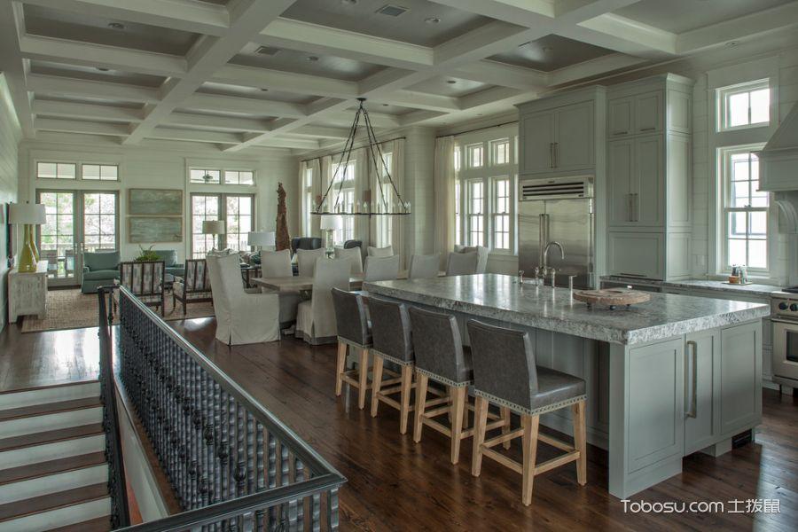 厨房白色细节混搭风格装饰图片