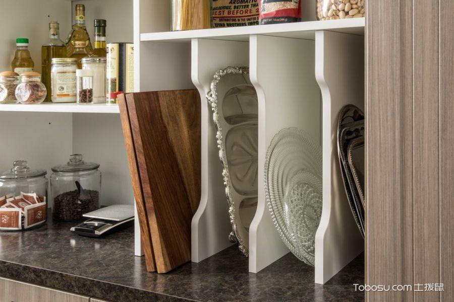 厨房白色细节现代风格装饰图片