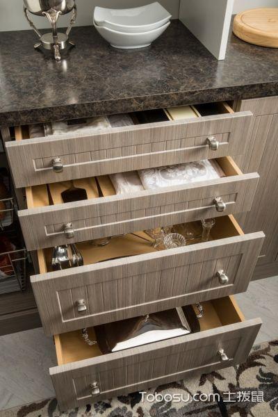 厨房米色细节现代风格装潢设计图片