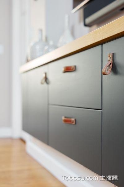 厨房灰色细节现代风格装修设计图片