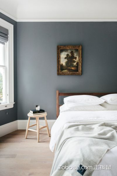 卧室灰色细节北欧风格装饰效果图