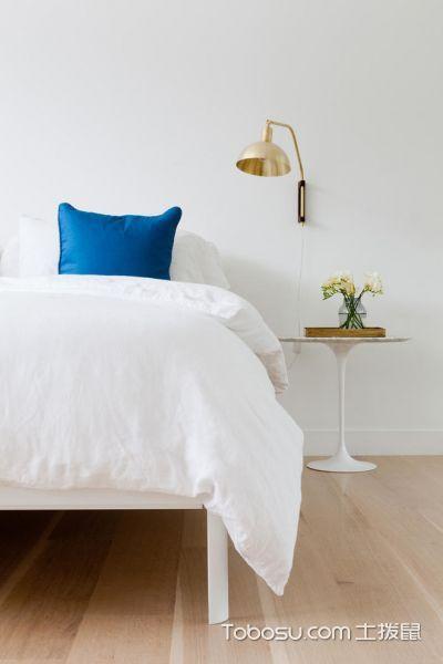 卧室白色细节北欧风格装修效果图