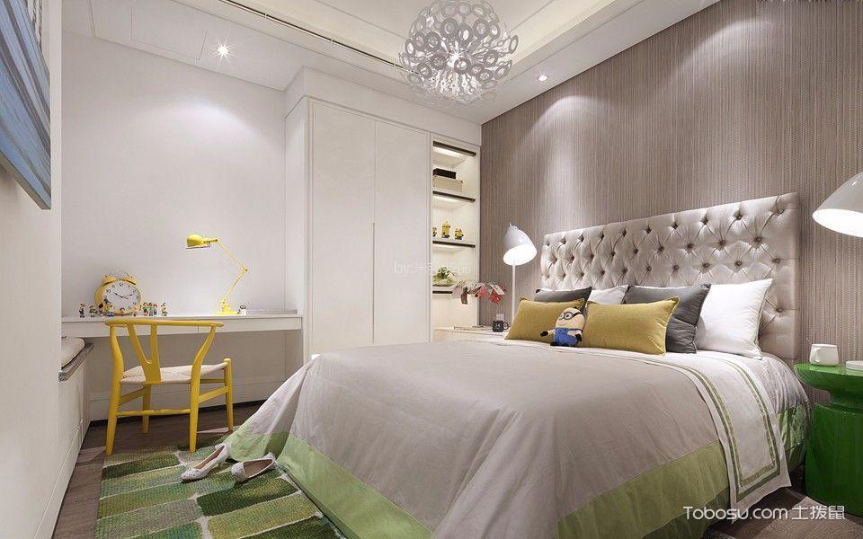 北欧风格110平米三室两厅室内装修效果图