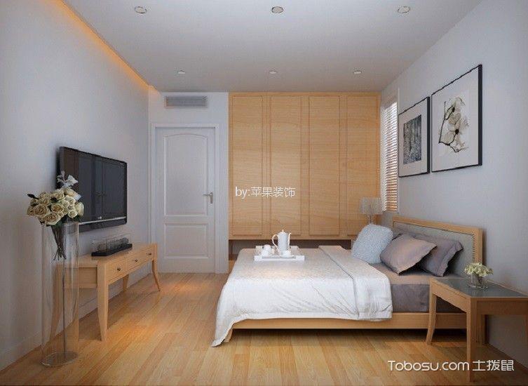 风雅卧室日式风格地砖效果图
