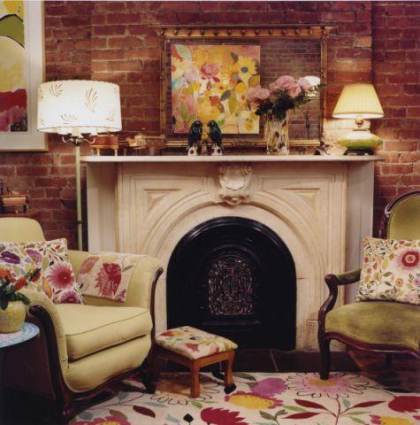 客厅简欧风格效果图大全2017图片_土拨鼠精致个性客厅简欧风格装修设计效果图欣赏