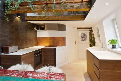 厨房北欧风格效果图大全2017图片_土拨鼠美好质朴厨房北欧风格装修设计效果图欣赏