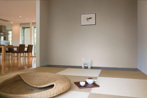 客厅日式风格效果图大全2017图片_土拨鼠豪华质感客厅日式风格装修设计效果图欣赏