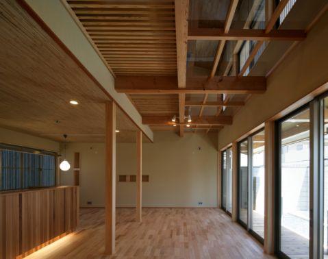 走廊日式风格效果图大全2017图片_土拨鼠个性唯美走廊日式风格装修设计效果图欣赏