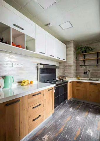 美式风格90平米小户型房子装饰效果图