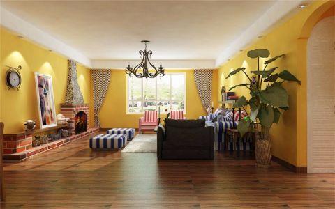 田园风格130平米大户型房子装饰效果图