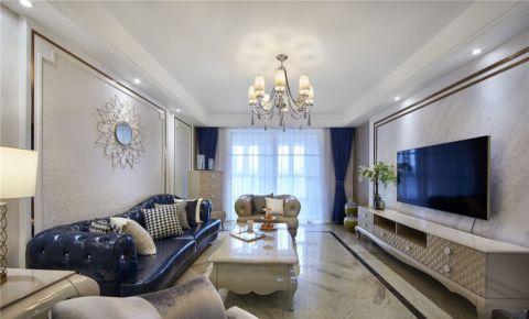 新古典风格100平米3房2厅房子装饰效果图