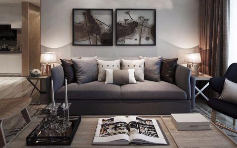 北欧风格120平米3房2厅房子装饰效果图