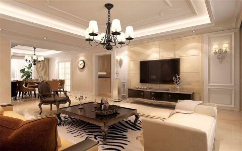 简欧风格276平米别墅室内装修效果图