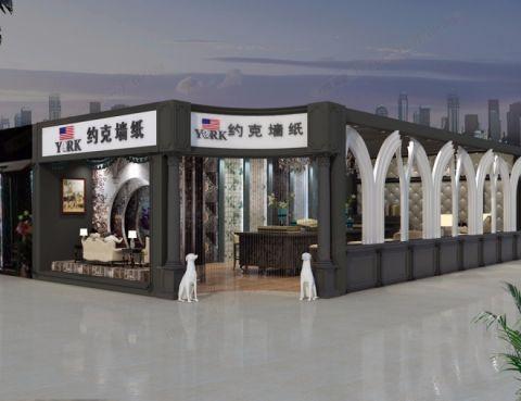 郑州新家居约克软装馆装修效果图