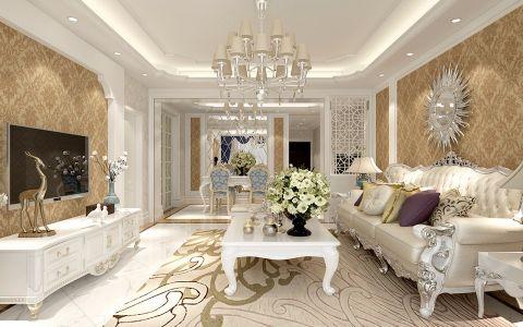 简欧风格180平米4房2厅房子装饰效果图