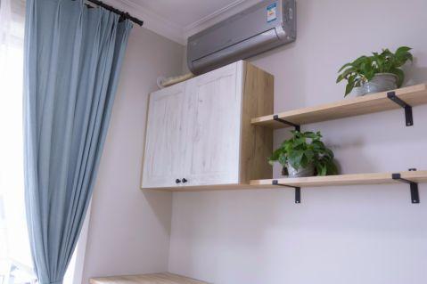 温馨卧室北欧装潢效果图