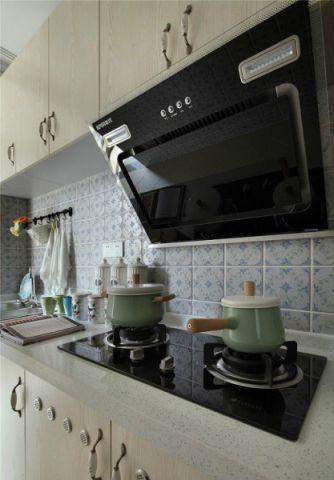 奢华大气厨房背景墙装修图