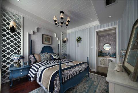 卧室白色背景墙家装设计图