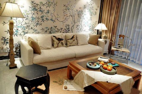 浪漫客厅装潢图片