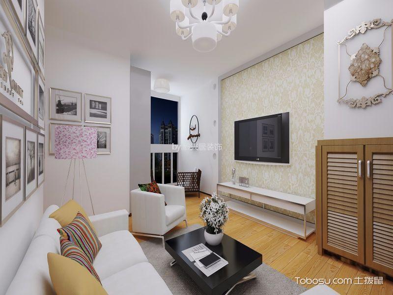 眩亮现代白色吊顶装饰设计图片