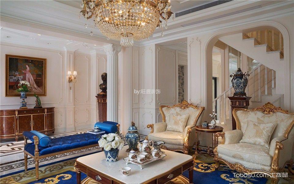 地中海风格260平米别墅房子装饰效果图