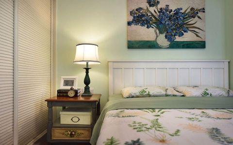清新素丽卧室设计图欣赏