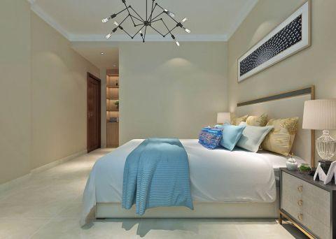 简单大气卧室背景墙装修图