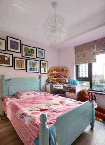 卧室照片墙混搭风格效果图