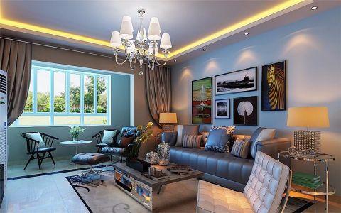 现代简约风格140平米楼房房子装饰效果图