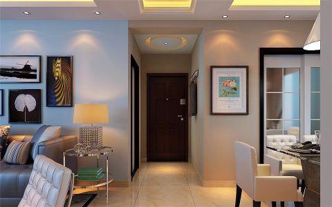 现代客厅走廊设计图