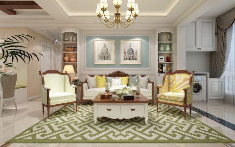 个性客厅美式室内装修设计