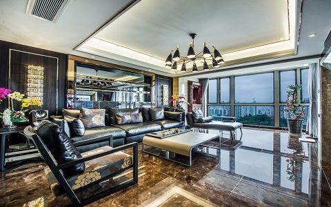 领秀城170平米4室2厅港式风格装修效果图