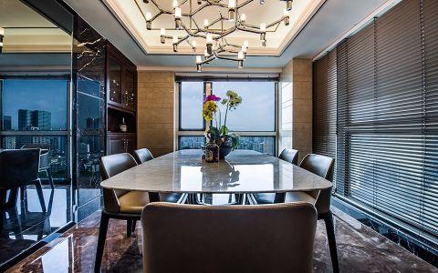 餐厅餐桌经典风格装潢效果图