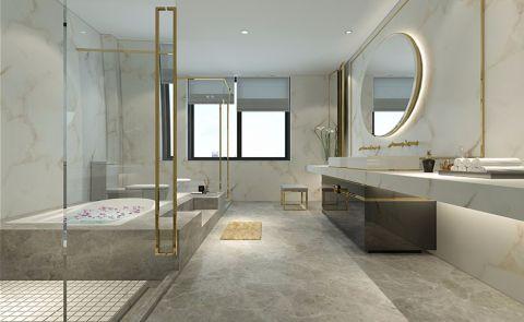 卫生间白色吊顶中式风格装饰图片