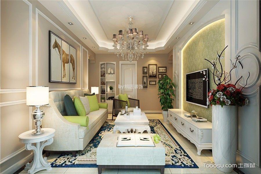现代风格100平米三室两厅室内装修效果图