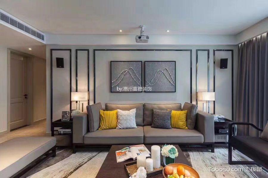 120平方现代简约风格套房装修效果图