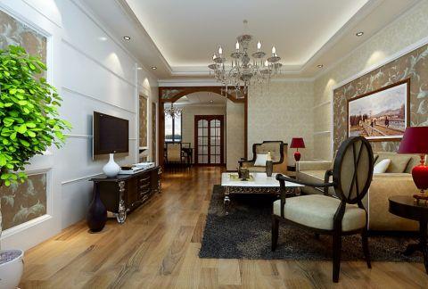 新古典风格137平米大户型室内装修效果图