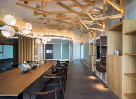 澄碧阁180平方后现代风格四居室装修效果
