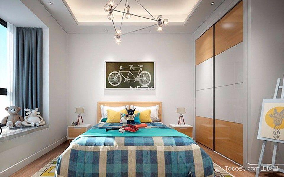 简欧风格100平米套房新房装修效果图图片