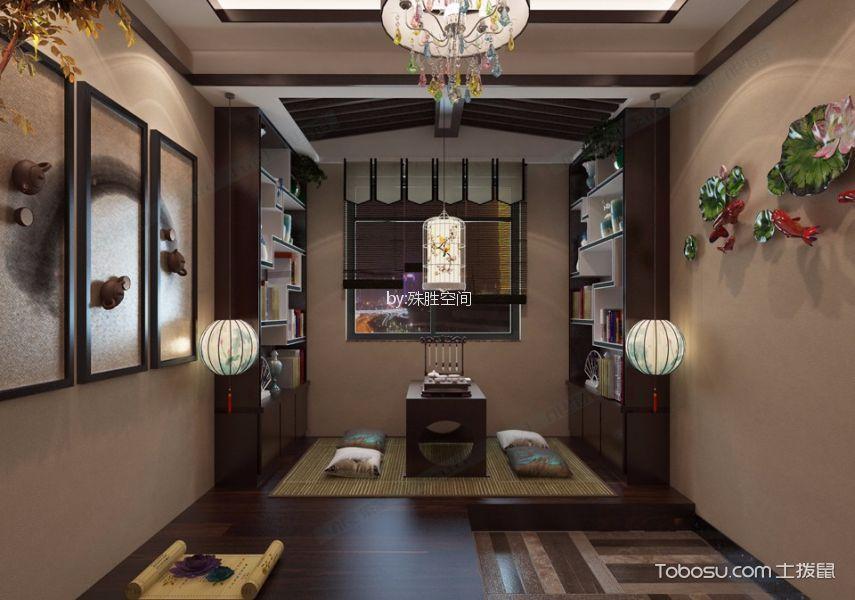 郑州商都嘉园186平米新中式风格效果图