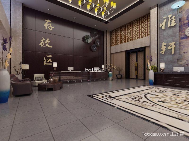 中牟新中式酒店装修效果图