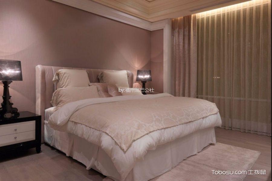 法式风格131平米大户型房子装饰效果图