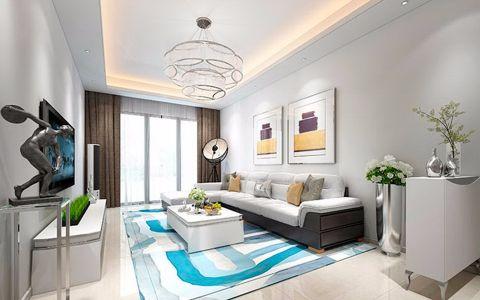 简欧风格100平米套房房子装饰效果图